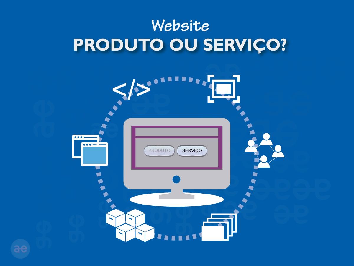 Imagem inicial do post Website: produto ou serviço?